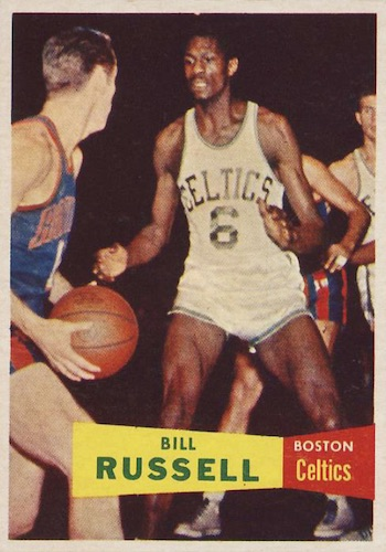 1957-58 Topps Basketball Cards 1