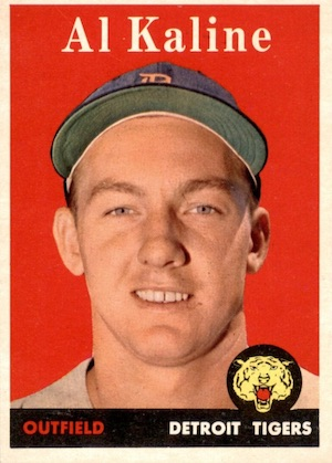 Top 10 Al Kaline Baseball Cards 10
