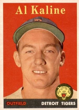 Top 10 Al Kaline Baseball Cards 11