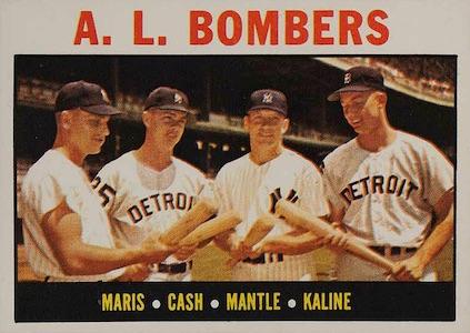 Top 10 Al Kaline Baseball Cards 6