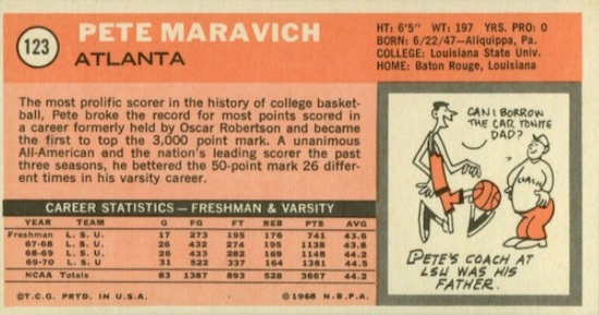 1970-71 Topps Basketball Cards 2
