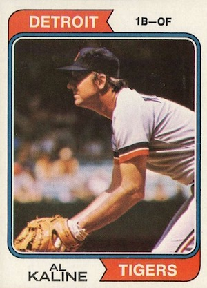 Top 10 Al Kaline Baseball Cards 2