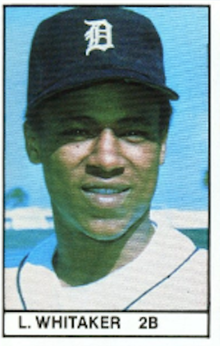 Top 10 Lou Whitaker Baseball Cards 3