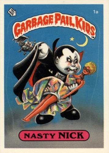 1985 Topps Garbage Pail Kids Series 1 Trading Cards 6