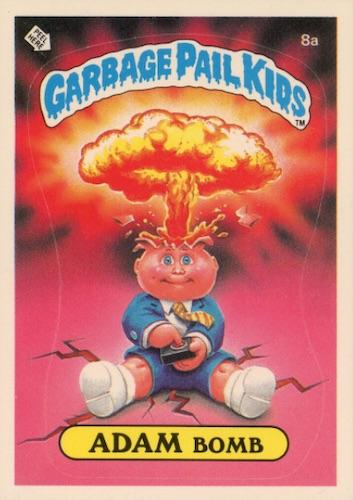 1985 Topps Garbage Pail Kids Series 1 Trading Cards 3