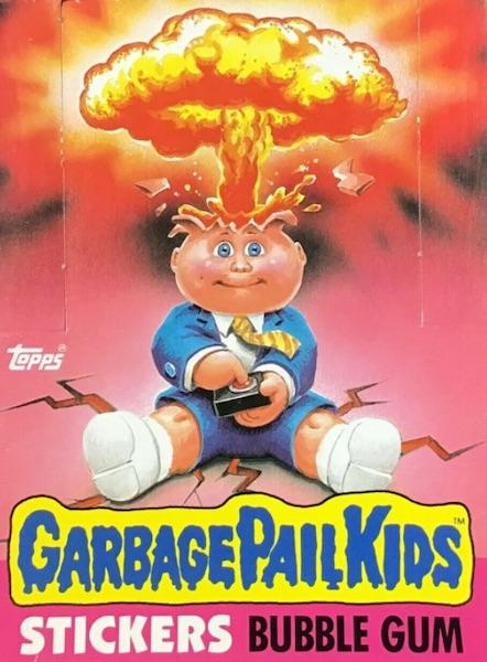 1985 Topps Garbage Pail Kids Series 1 Trading Cards 5