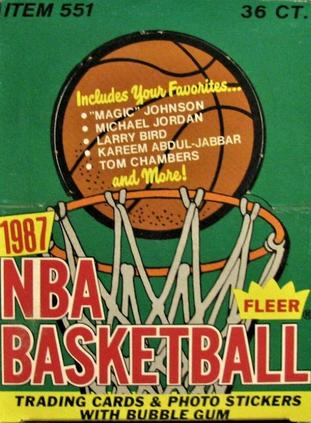 1987-88 Fleer Basketball Cards 3