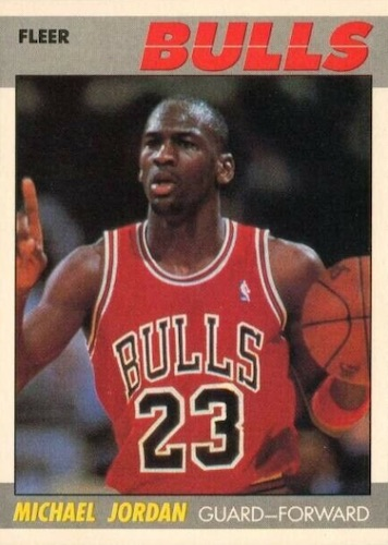Top 10 Michael Jordan Base Cards of All-Time 1