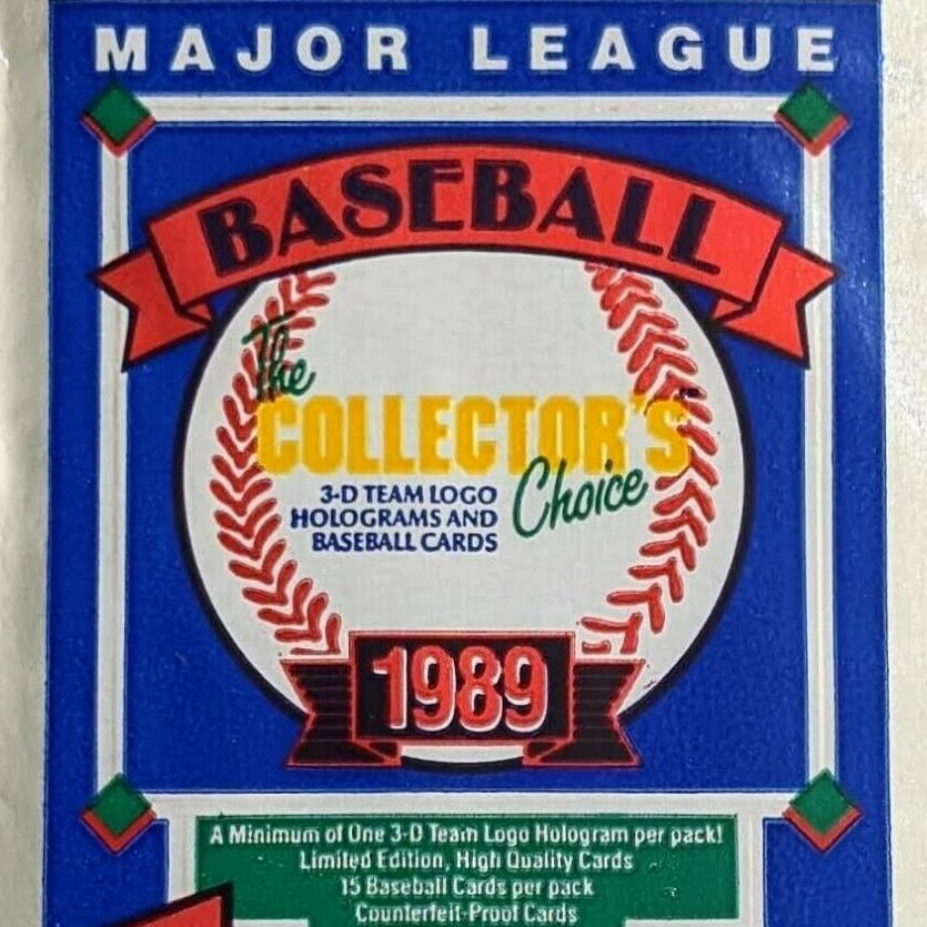 /_ BBCE CERTIFIED 1989 Upper Deck Low Series Baseball Hobby Box 36 Packs//15 Cards: Possible Rookies of Griffey, Randy Johnson, John Smoltz, Gary Sheffield