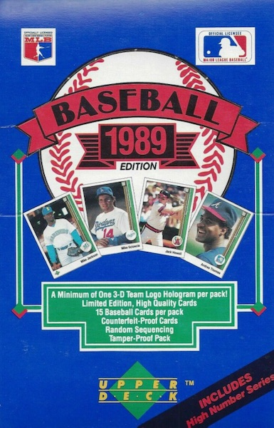 1989 Upper Deck Baseball Cards 6