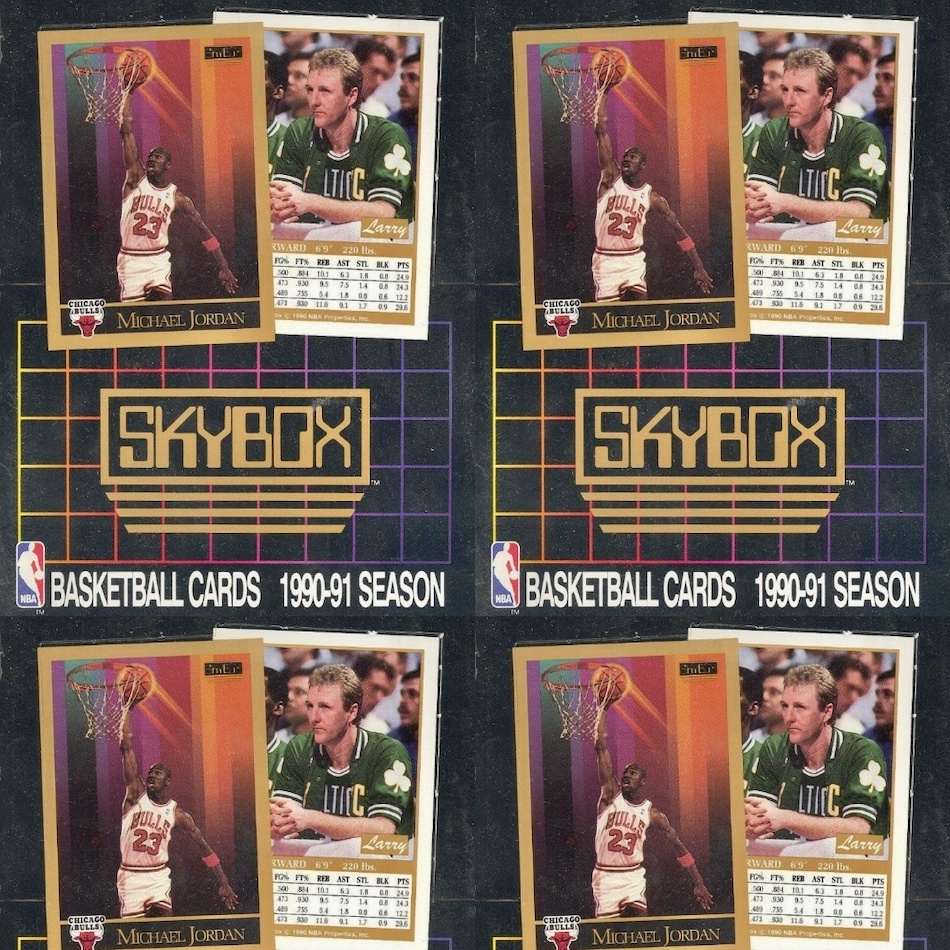 Skybox NBA Basketball Cards Pack 1992-93 Edition Unopened. 12 Cards Sealed