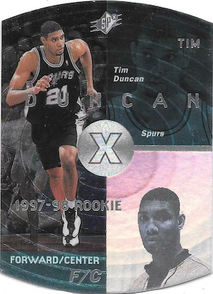 Tim Duncan Rookie Card Gallery and Checklist 17