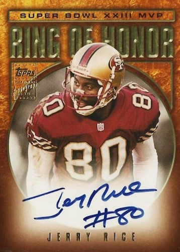 Top Jerry Rice Football Cards to Collect 11