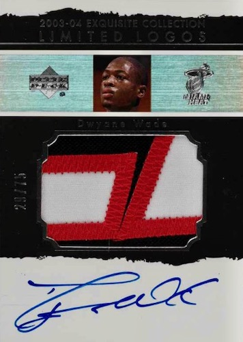 Top Dwyane Wade Rookie Autograph Cards to Collect 3