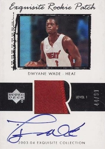 Dwyane Wade Rookie Cards and Autograph Memorabilia Buying Guide 1