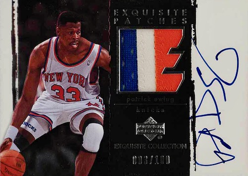 Top 10 Patrick Ewing Cards to Collect 8