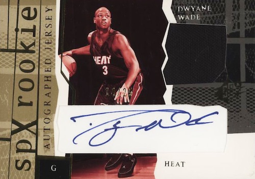 Top Dwyane Wade Rookie Autograph Cards to Collect 5