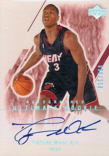 Dwyane Wade Rookie Cards and Autograph Memorabilia Buying Guide 2