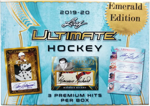 2019-20 Leaf Ultimate Hockey Cards 7