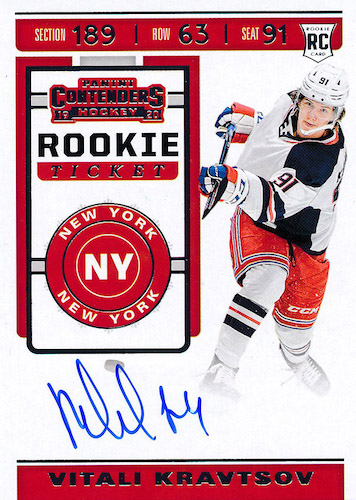 2019-20 Panini Contenders Hockey Cards 4