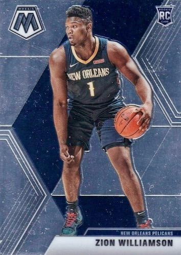 2019-20 Panini Mosaic Basketball Cards 9