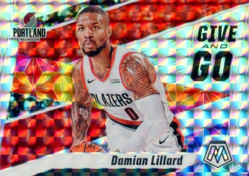 2019-20 Panini Mosaic Basketball Cards 17