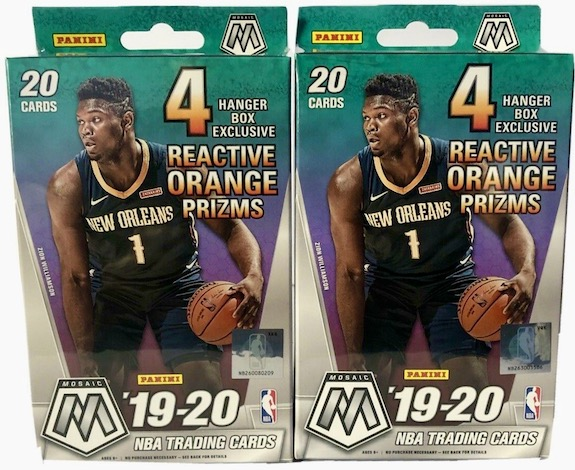 2019-20 Panini Mosaic Basketball Variations Checklist and Gallery 2