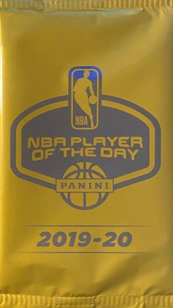 2019-20 Panini NBA Player of the Day Basketball Cards 2