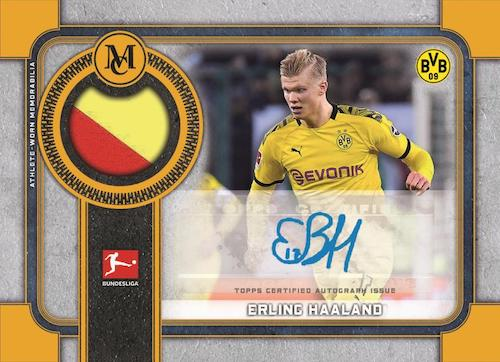 2019-20 Topps Museum Collection Bundesliga Soccer Cards 5