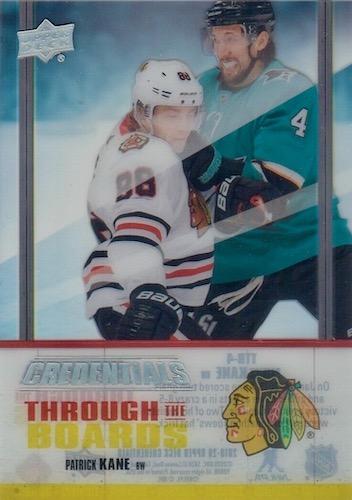 2019-20 Upper Deck Credentials Hockey Cards 27