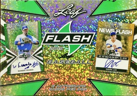 2019 Leaf Flash Baseball Cards 3
