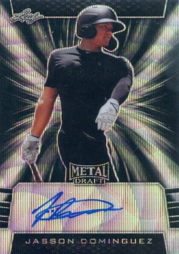 2019 Leaf Metal Draft Baseball Cards 7