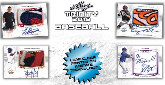 2019 Leaf Trinity Baseball Cards 3