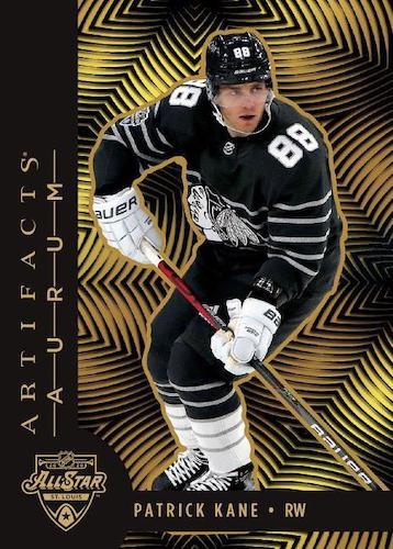 2020-21 Upper Deck Artifacts Hockey Cards - Rookie Redemption Checklist 5