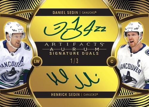 2020-21 Upper Deck Artifacts Hockey Cards 5