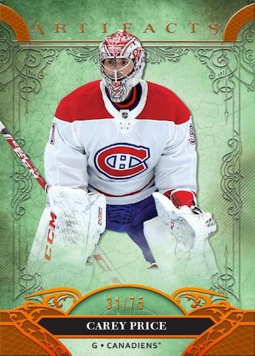 2020-21 Upper Deck Artifacts Hockey Cards 1
