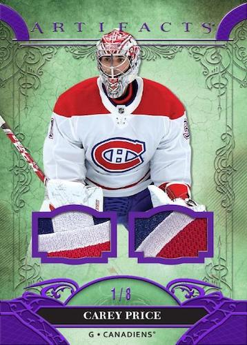 2020-21 Upper Deck Artifacts Hockey Cards 2