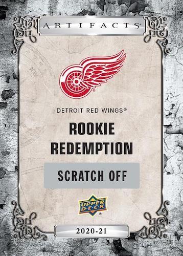 2020-21 Upper Deck Artifacts Hockey Cards - Rookie Redemption Checklist 4