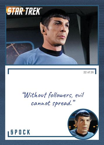 2020 Rittenhouse Star Trek TOS Archives and Inscriptions Trading Cards 8
