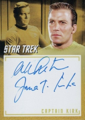 2020 Rittenhouse Star Trek TOS Archives and Inscriptions Trading Cards 9