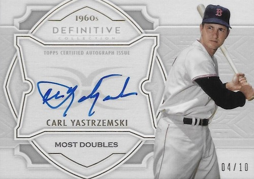 2020 Topps Definitive Collection Baseball Cards 11