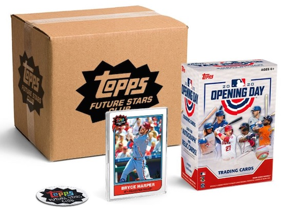 2020 Topps Future Stars Club Baseball Cards 1