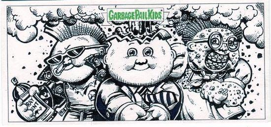 2020 Topps Garbage Pail Kids 35th Anniversary GPK Series 2 Trading Cards 5