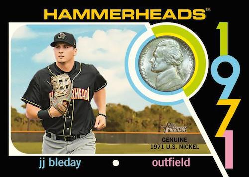 2020 Topps Heritage Minor League Baseball Cards 4