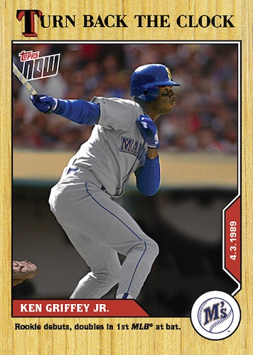 2020 Topps Now Turn Back the Clock Baseball Cards Checklist 4