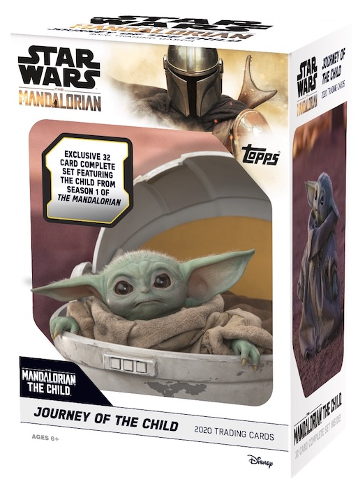 2020 Topps The Mandalorian Journey of the Child Trading Cards 4