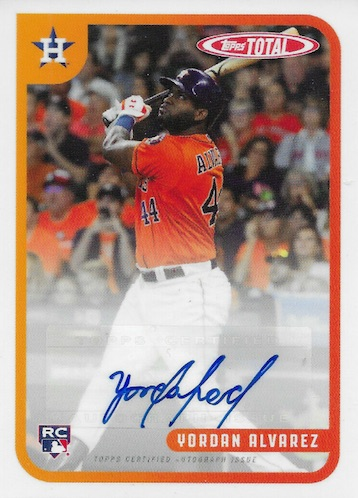 2020 Topps Total Baseball Cards - Wave 6 Checklist 7