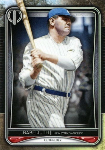 2020 Topps Tribute Baseball Cards 12