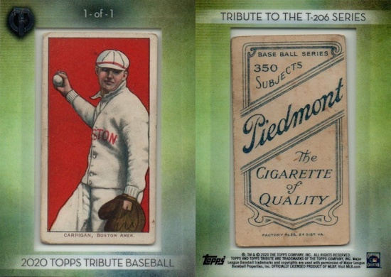2020 Topps Tribute Baseball Cards 3