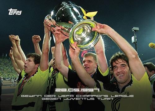 2020 Topps x BVB Borussia Dortmund Soccer Cards 2